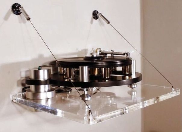 audio suspension asu 100 turntable wall mount. Black Bedroom Furniture Sets. Home Design Ideas